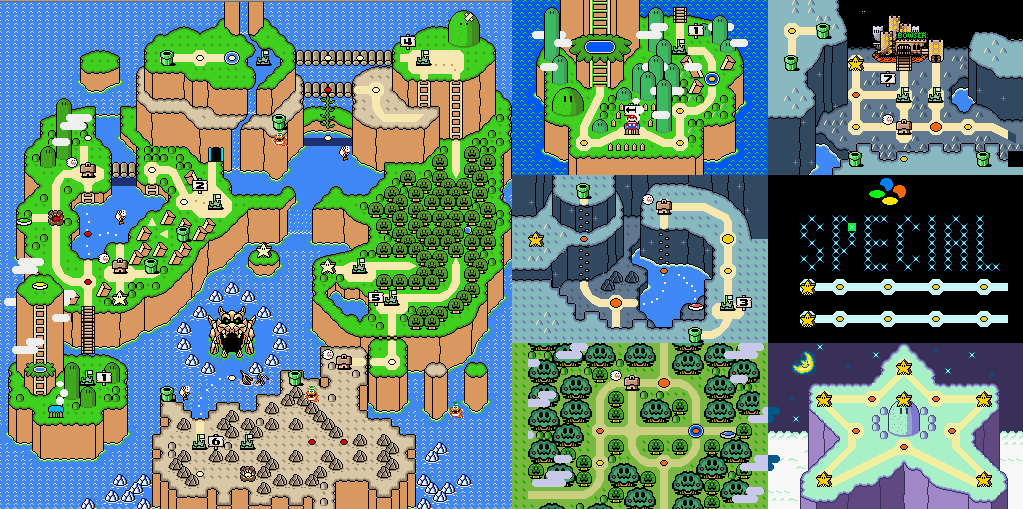Which Mario Game Do You Think Had The Best Overworld Hub And Why