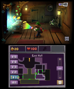 Luigi's Mansion Dark Moon Mirror