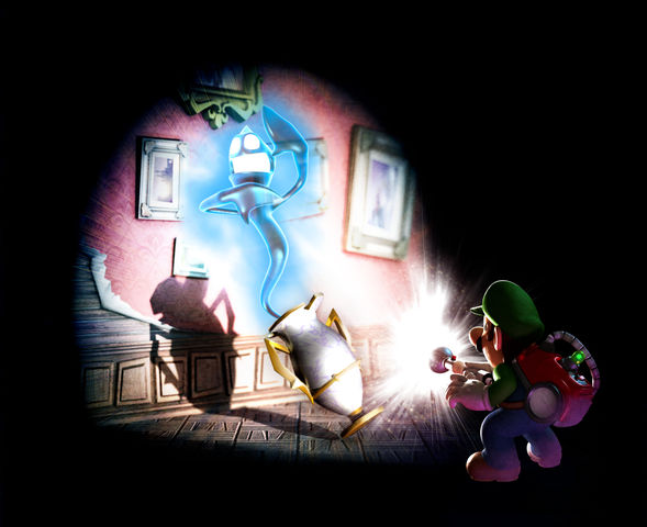 Luigi ghost catch