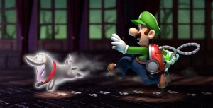 Luigi chase ghost dog