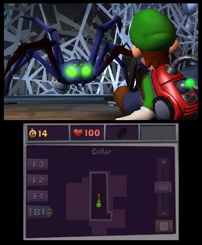 Luigi's Mansion 2 Spider Boss
