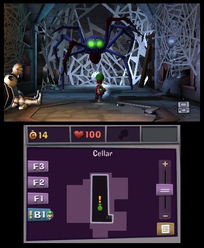 Luigi's Mansion 2 Spider Boss 2