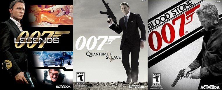 James Bond Games