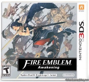Fire Emblem Awakening Box Art