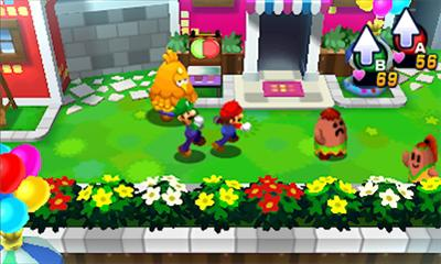 Mario and Luigi 4 Overworld