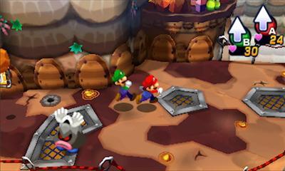 Mario and Luigi 4 Overworld 2