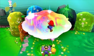 Mario enter dream