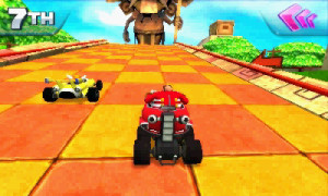 Sonic All Stars Racing 3DS 1