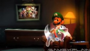 Luigi in house