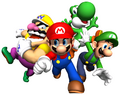 Mario 64 DS Artwork