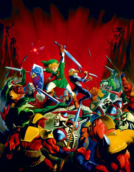 Ocarina of Time Artwork