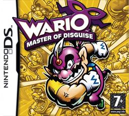 Wario Master of Disguise box