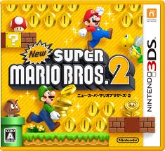 New Super Mario Bros 2 box art Japan