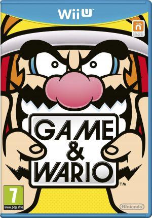 Game and Wario EU Boxart