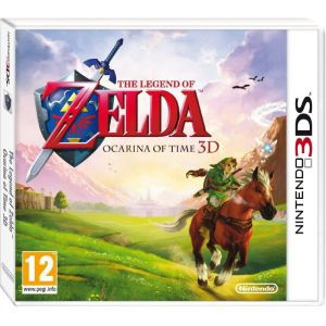 Ocarina of Time 3d box