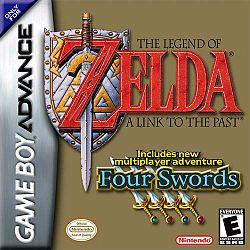 The Legend of Zelda A Link to the Past & Four Swords