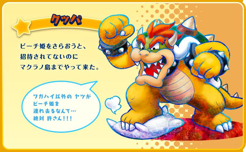 Mario Luigi Dream Team Bowser Official Art Gaming