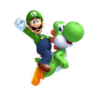 Luigi and Yoshi