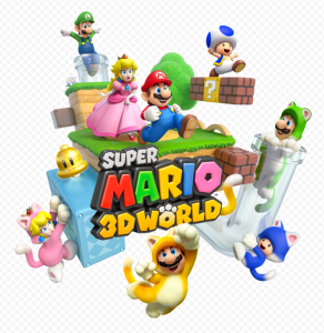 Mario 3D World Logo