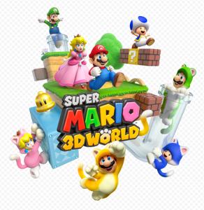 Mario 3D World Logo
