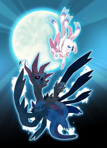 Sylveon vs Hydreigon