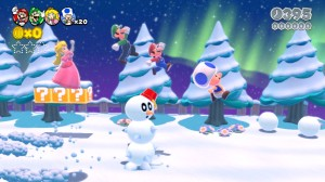 Mario 3D World screen