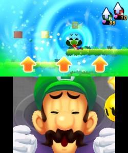 Mario and Luigi Dream Team Screenshot 2