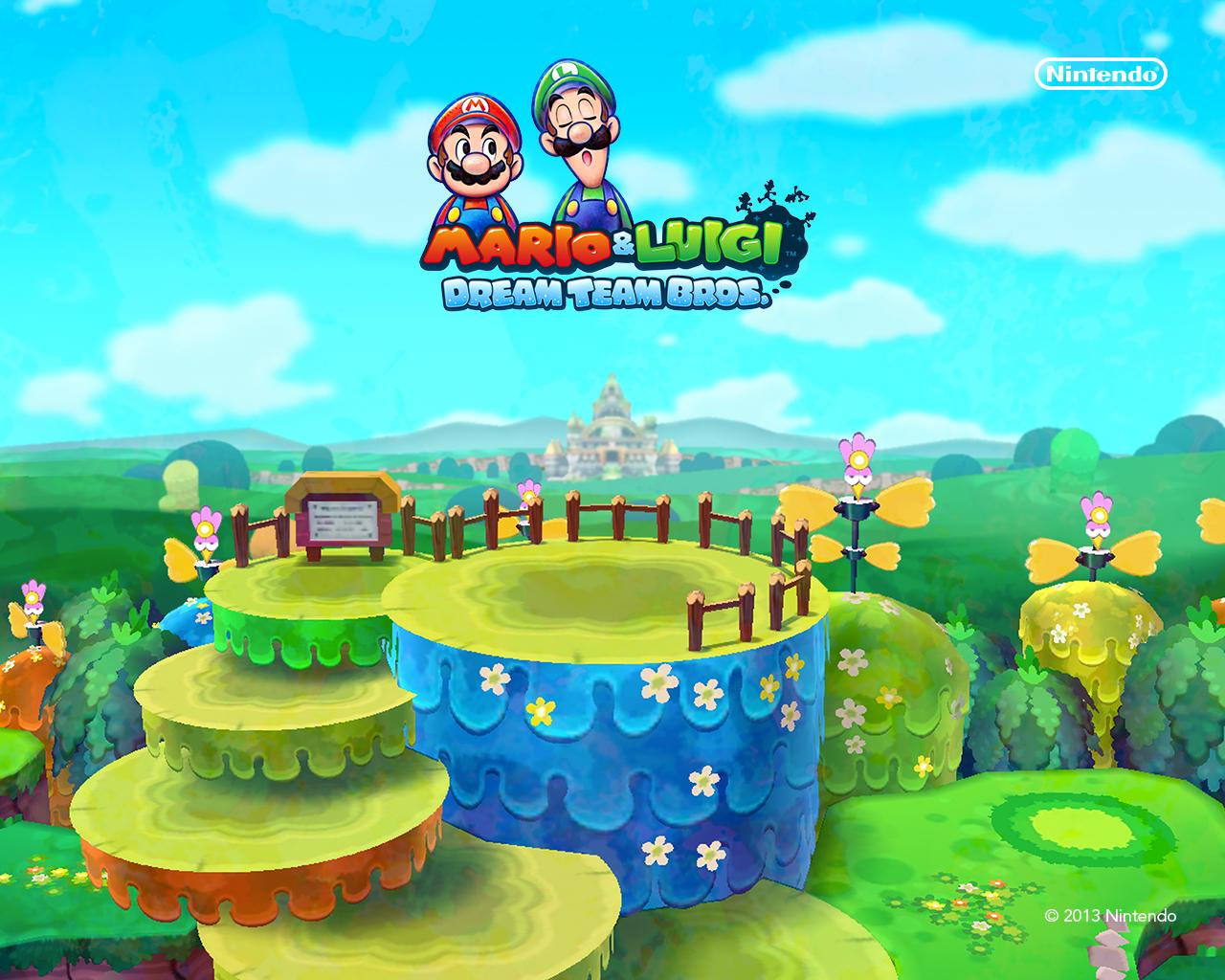 Mario Luigi Dream Team Official Site Launches Gaming Reinvented