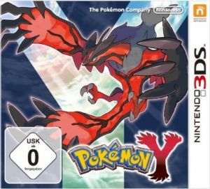 Pokemon Y Box Art Europe