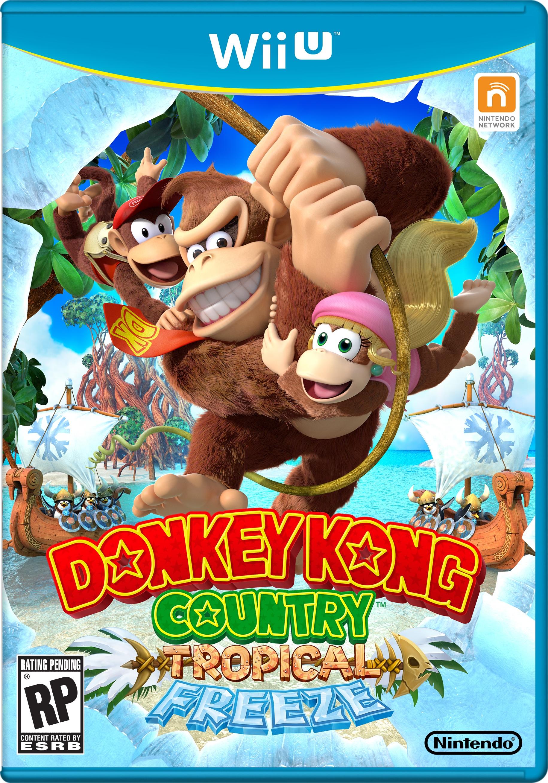 Donkey Kong Country Tropical Freeze Box Art! | Gaming ...