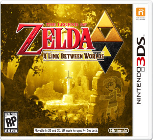 Zelda a Link Between Worlds box art