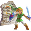 Zelda Link Between Worlds art