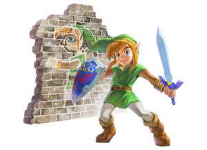 Zelda Link Between Worlds art