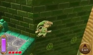 Link wall painting