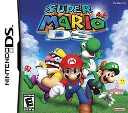 Mario 64 DS box