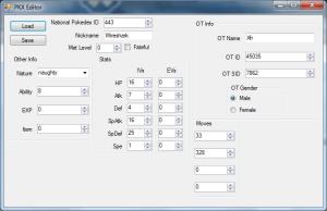 PKX Editor