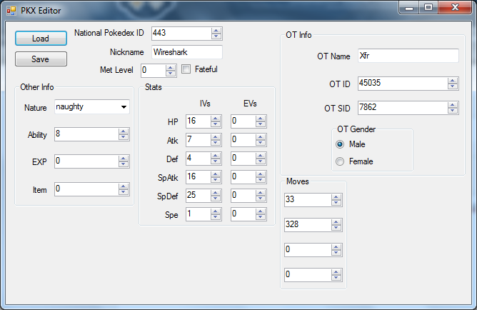 Pokemon X and Y 'Pokemon Editor' Released, Hacking Draws Ever Closer