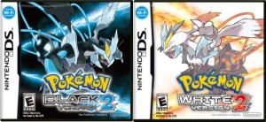 Pokemon Black and White 2 Box Arts
