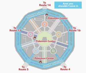 Pokemon XY Glitch Map