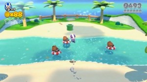 Toad beach level