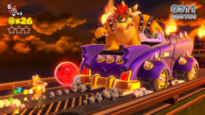 Super Mario 3D World Bowser Boss