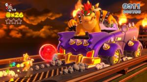Super Mario 3D World Bowser Boss