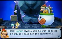Bowser Jr hero