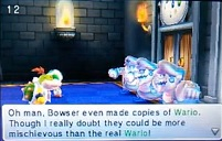Bowser Jr vs Wario Clones
