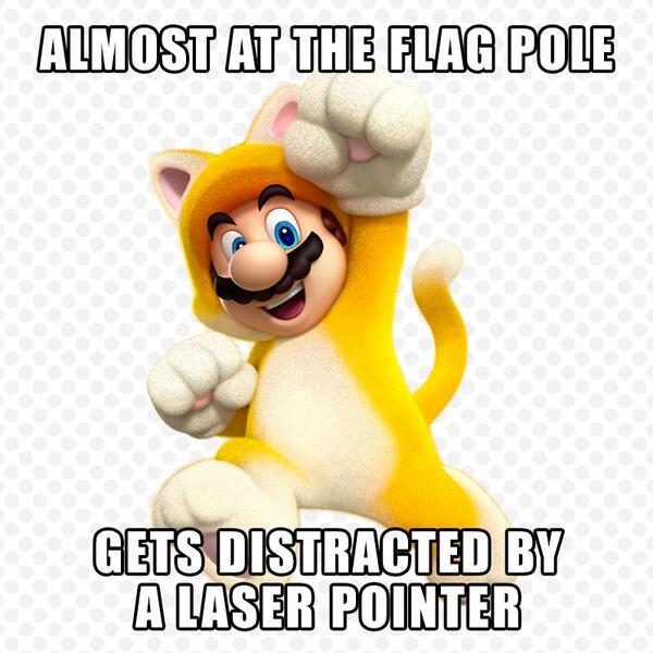 mario memes super nintendo cat 3d meme bros funny power sm3dw luigi kart smash promotes wiiu brothers fails wii happens