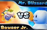 Mr Blizzard Boss Battle