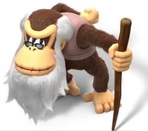 Cranky Kong Art