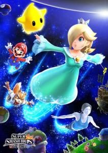 Super Smash Bros 4 Rosalina