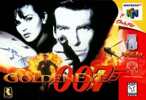 Golden Eye 007 box
