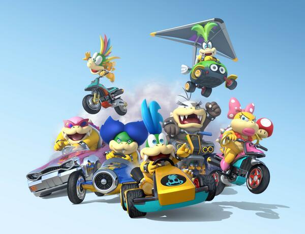 Koopalings Mario Kart